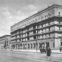 Москва. Мейеровский проезд. Жилой дом. З.М. Розенфельд. 1934