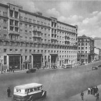 Москва. Улица Чкалова. Жилой дом. А.А. Кеслер. 1938