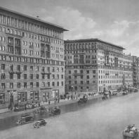 Москва. Улица Чкалова. Жилой дом. И.З. Вайнштейн. 1935—1938