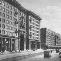 Москва. Красносельская улица. Жилой дом. И.Е. Рожин, А.Ф. Xряков. 1937