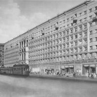 Москва. Краснопрудная улица. Жилой дом. З.М. Розенфельд. 1937
