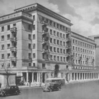 Москва. 1-я Мещанская улица. Жилой дом. Г.И. Глущенко. 1938