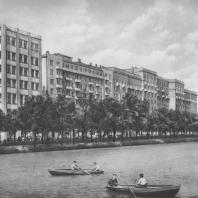 Москва. Чистые пруды. Жилые дома. А.Ф. Волхонский. 1936