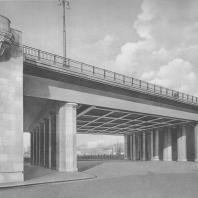 Москва. Краснохолмский мост. В.Д. Кокорин. 1938