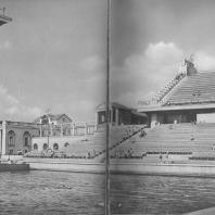 Москва. Водный стадион «Динамо». В. Я. Мовчан, Л. М. Мейльман. 1939