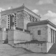 Москва. Метрополитен. Станция «Динамо». Наземный павильон. Д.Н. Чечулин. 1938