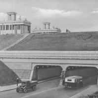 Тоннель-проезд под каналом имени Москвы у шлюза № 8. В.Ф. Кринский. 1937