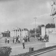 Всесоюзная сельскохозяйственная выставка. Площадь колхозов. 1939