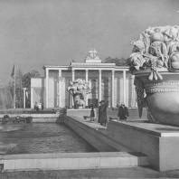 Всесоюзная сельскохозяйственная выставка. Павильон «Сибирь». В.А. Ершов. 1939—1940