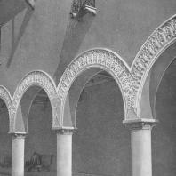 Всесоюзная сельскохозяйственная выставка. Павильон «Грузинская ССР». Детали аркады. 1939