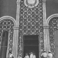 Всесоюзная сельскохозяйственная выставка. Павильон «Армянская ССР». Фрагмент входа. 1939