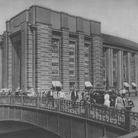 Ленинград. Универсальный магазин на Обводном канале. Е.И. Катонин. 1934