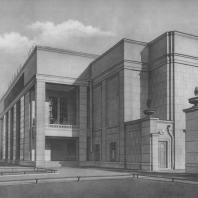 Ленинград. Кинотеатр «Москва». Л.М. Xидекель. 1937—1939