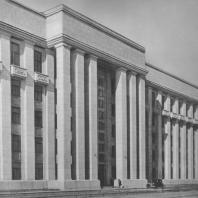 Ленинград. Инженерный техникум. А.И. Князев. Л.Ю. Гальперин. 1936—1937