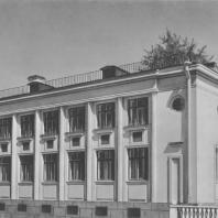 Ленинград. Детский сад на улице Полозова. Л.Е. Асс, А.С. Гинцберг. 1939