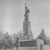 Ленинград. Памятник жертвам 9-го января 1905 года. М.Г. Манизер. 1930