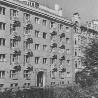 Ленинград. Кировский проспект. Жилой дом. Д.Г. Фомичев. 1937