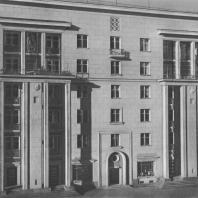 Ленинград. Щемиловка. Жилой дом. Е.А. Левинсон, И.И. Фомин. 1938
