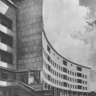 Ленинград. Карповка. Жилой дом. Е.А. Левинсон, И.И. Фомин. 1934