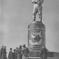 Горький. Памятник В.П. Чкалову. И.А. Менделевич, В.А. Андреев