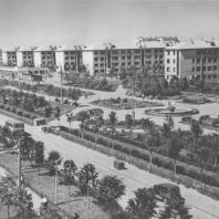 Горький. Городской квартал. М.И. Синявский, И.Г. Таранов. 1930