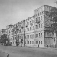 Горький. Жилой дом. Д.П. Сильванов. 1938