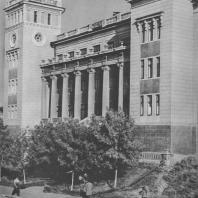 Куйбышев. Дом водников. А.И. Ушаков. 1936