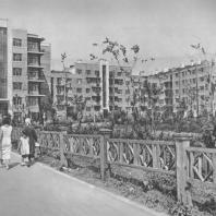 Куйбышев. Галактионовская улица. Жилые дома. А.И. Матвеев, Б.А. Босин. 1936