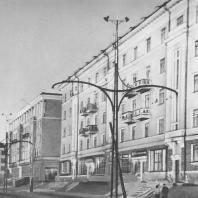Молотов. Улица Ленина. 1935—1942