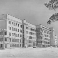 Свердловск. Областная клиническая больница. И.А. Югов. 1936—1939