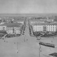 Свердловск. Площадь Первой пятилетки. Улица Ильича. П.В. Оранский. 1930—1933
