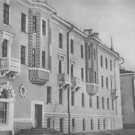 Магнитогорск. Жилые дома треста Магнитострой. Правый берег Урала