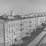 Магнитогорск. Жилые кварталы на правом берегу Урала