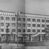 Сталинск. Дворец культуры. Е.Я. Лехер. Е.Я. Уманский. 1936