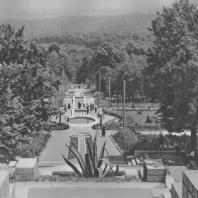 Железноводск. Аллея каскадов. 1936