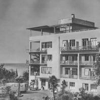 Сочи. Санаторий. А.А. и Л.А. Веснины. 1927