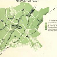 Генеральный план развития Ташкента. 1967 г.
