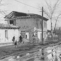 Ташкент. Один из участков улицы М. Горького (ныне микрорайон Ц-13) до реконструкции