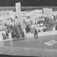 Ташкент. Микрорайоны  Ц-1 и Ц-2 (макет). Разработано институтом «Моспроект-1». Осуществляется «Главмосстроем»