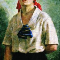 Г.Г. Ряжский. Делегатка. 1927 г. Москва, Третьяковская галерея
