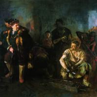 Б.В. Иогансон. На старом уральском заводе. 1937 г. Москва. Третьяковская галерея