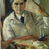М.С. Сарьян. Автопортрет. 1942 г. Ереван, Картинная галерея Армении