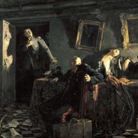 Кукрыниксы. Конец. 1947 — 1948 гг. Москва, Третьяковская галерея