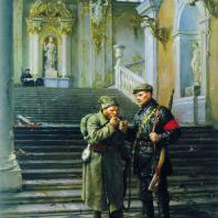 В.А. Серов. Зимний взят. 1954 г. Москва, Третьяковская галерея