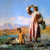 С.А. Чуйков. Утро. 1947 г. Москва, Третьяковская галерея