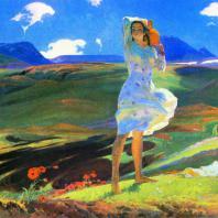 О.М. 3ардарян. Весна. 1956 г. Москва. Третьяковская галерея