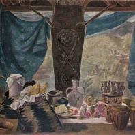 Е.Д. Ахвледиани. Натюрморт. 1955 г. Тбилиси, Музей искусств Грузинской ССР
