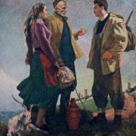 У.М. Джапаридзе. Напутствие. 1957 г. США, частное собрание